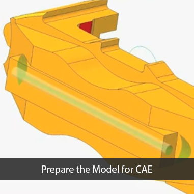 Prepare the Model for CAE